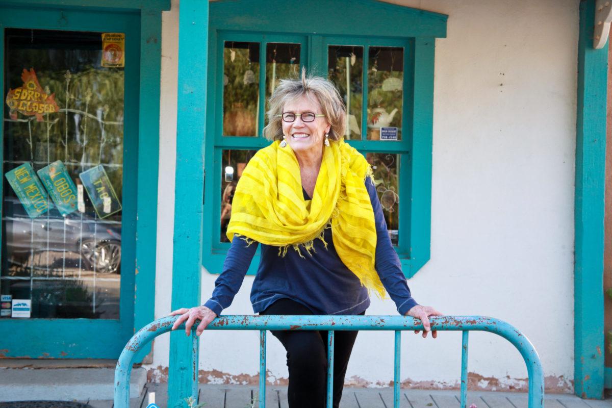 Gwen in a Yellow Shawl